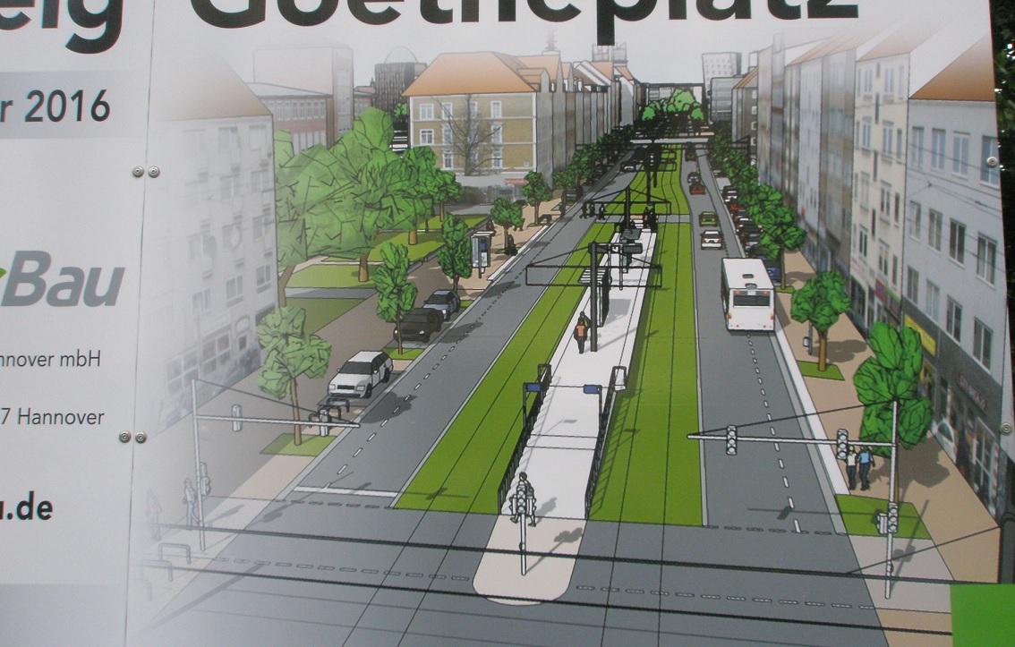 Proj 10 17 Juni Baustellenschild am Goethekreisel Detail.jpg