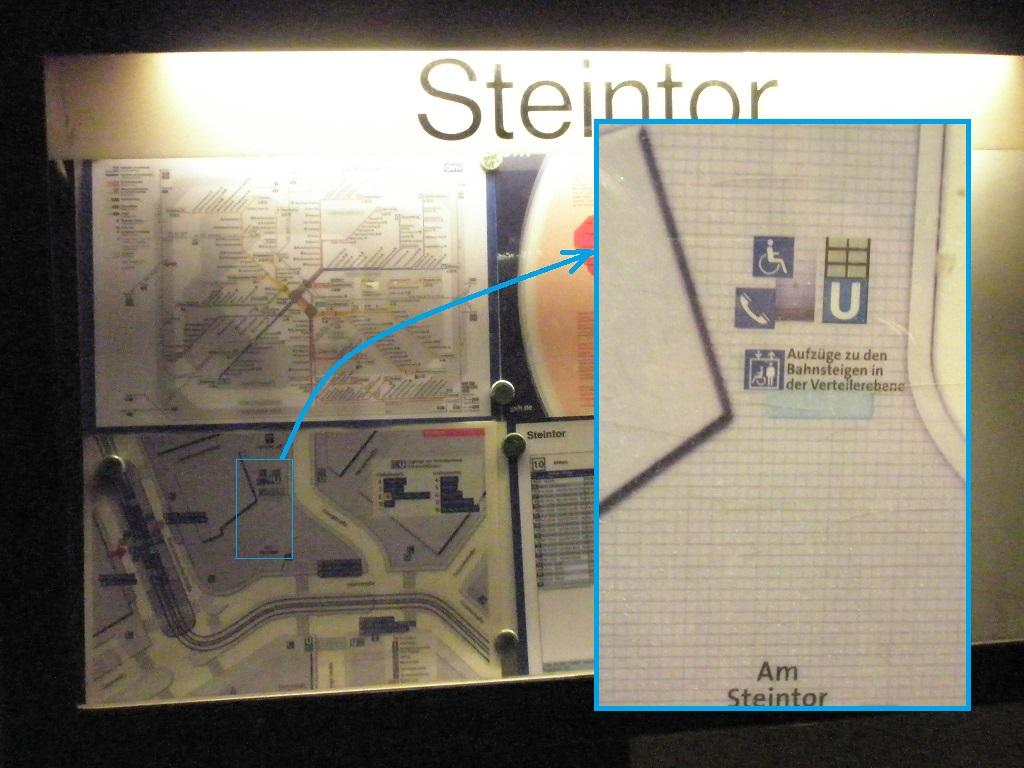 20160128 Steintor-Aushang mit Rollifahrer-Symbol.jpg