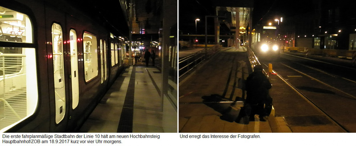 Proj 10 17 Erste Fahrt zu Hbf-ZOB 18te Sep 17 noch keine Bahnsteigbel.jpg