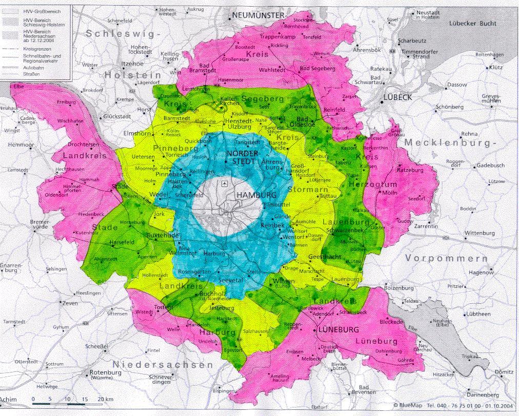 Hvv Karte Ringe.Geografischer Hvv Plan Ringübersicht Www Bahninfo Forum De