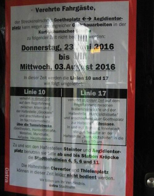 Proj 10 17 Aushang Sommerumleitung in Stadtbahn.jpg