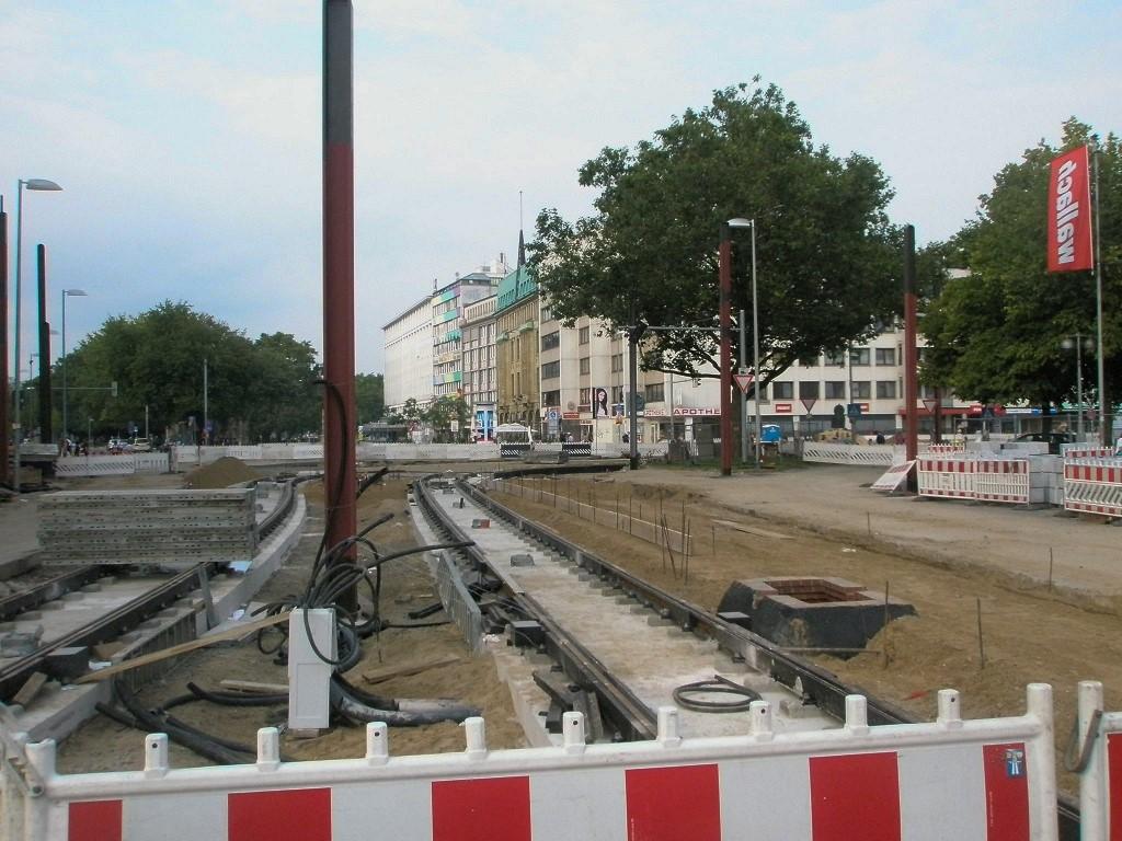Proj 10 17 Kurve Münzstraße in die Kurt-Schumacher-Straße End Aug 2017.jpg
