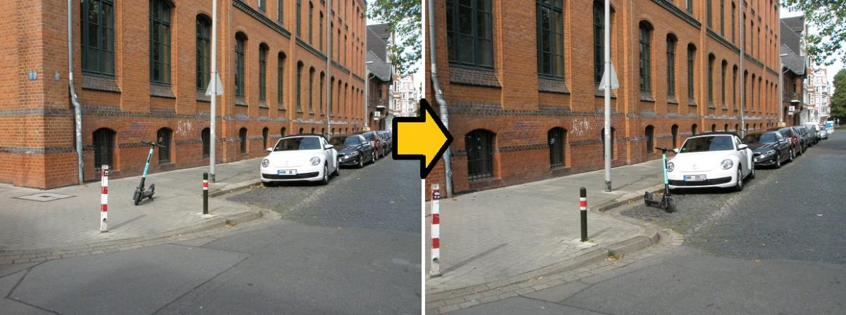 Falschparker E-Tretroller auf Bordstein umparken.jpg