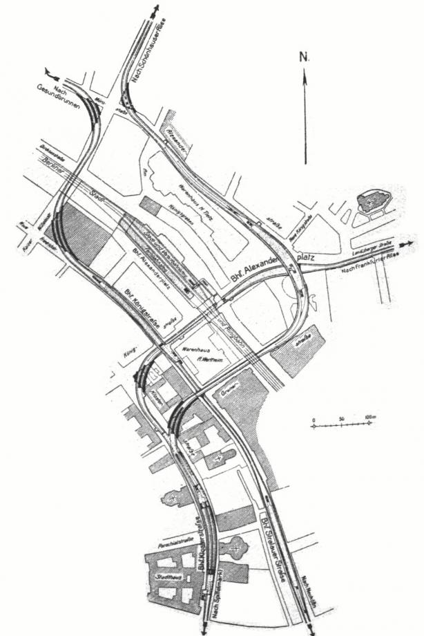 Alexanderplatz geplante Streckenführung 1914.jpg