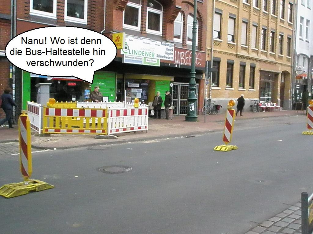 Haltestelle Lindener Marktplatz 2015 Beginn Bauarbeiten.jpg